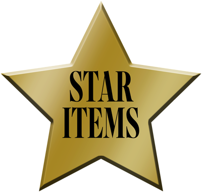 star items First Day Covers