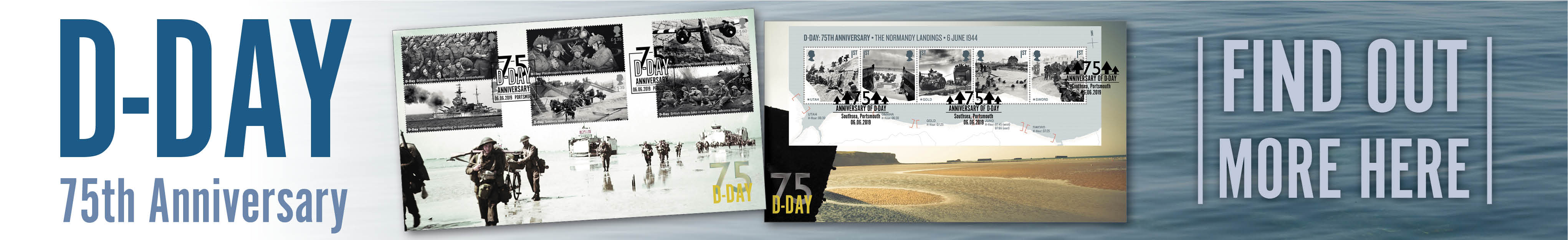 D Day| First Day Covers