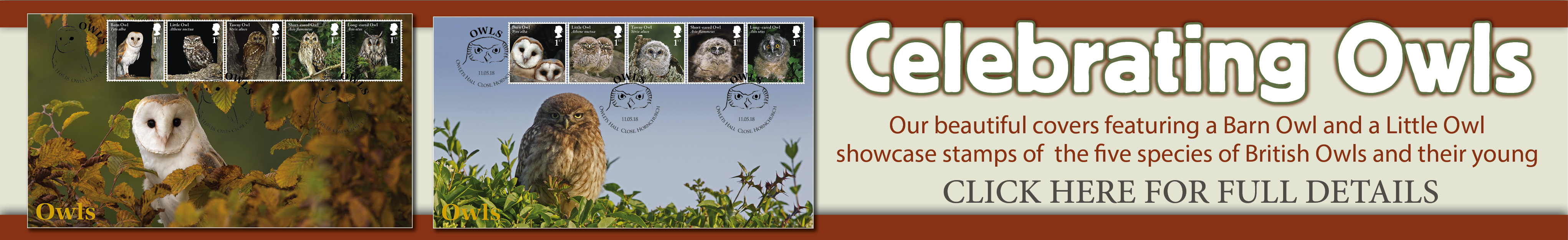 Owls | First Day Covers