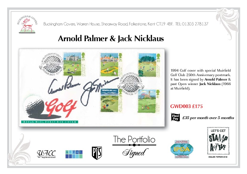 Signed Portfolio First Day Covers