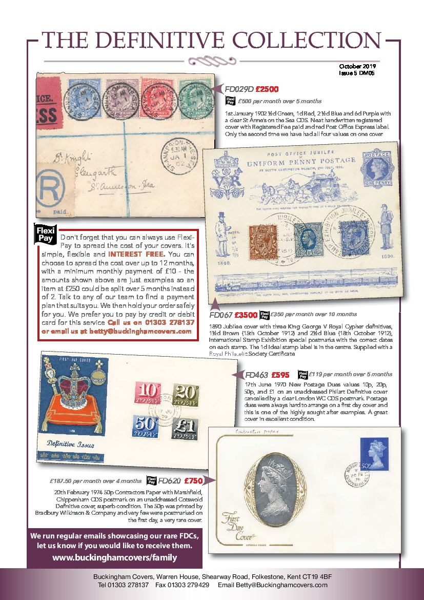 Definitive Collection First Day Covers