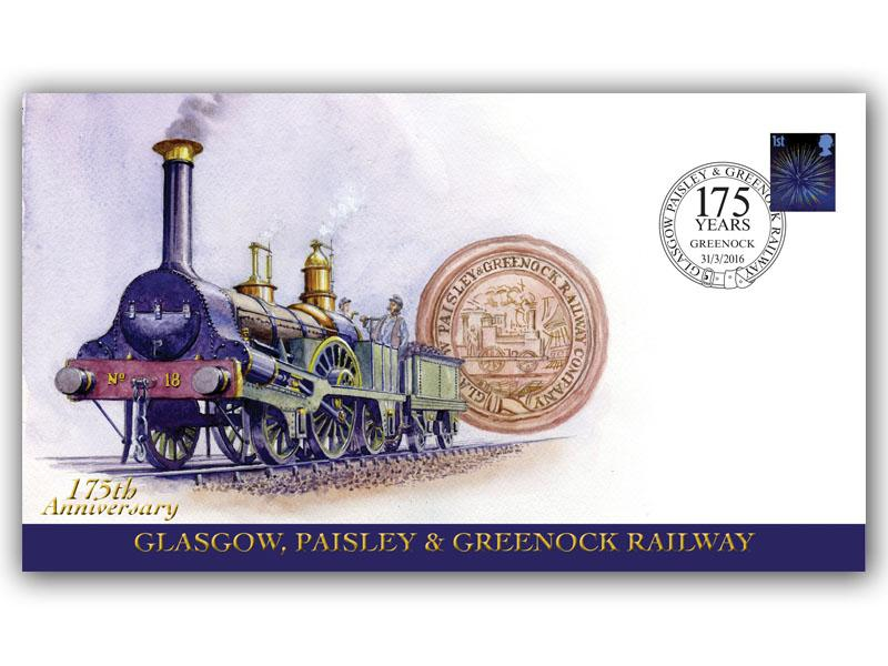 175th Anniversary of the Glasgow, Paisley and Greenock Railway