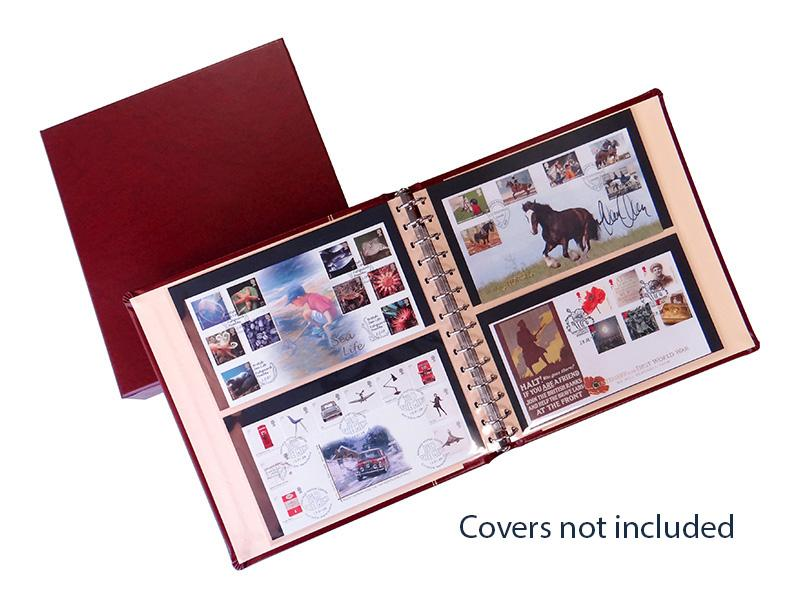 Luxury Red SAFE Album for ultimate protection