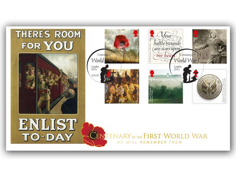 Great War 2016 Centenary First Day Cover
