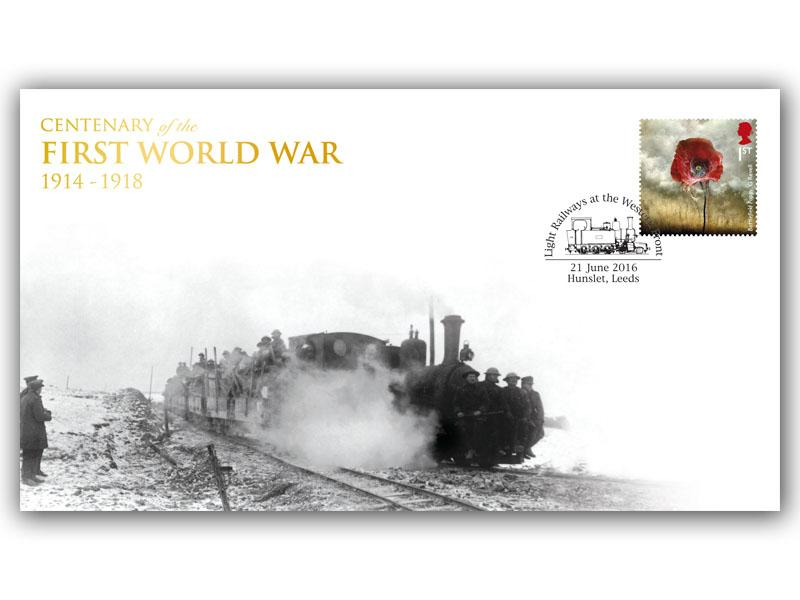 Centenary of British Light Railways on the Western Front