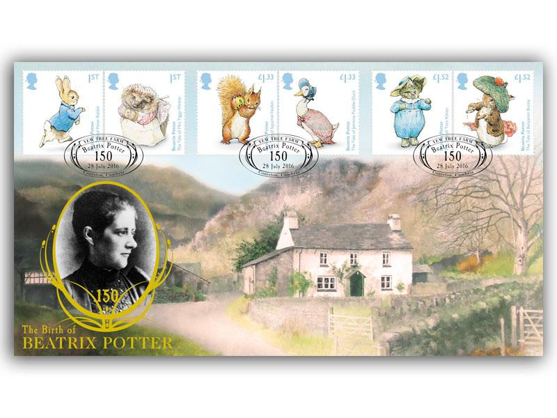 150th Anniversary of the birth of Beatrix Potter