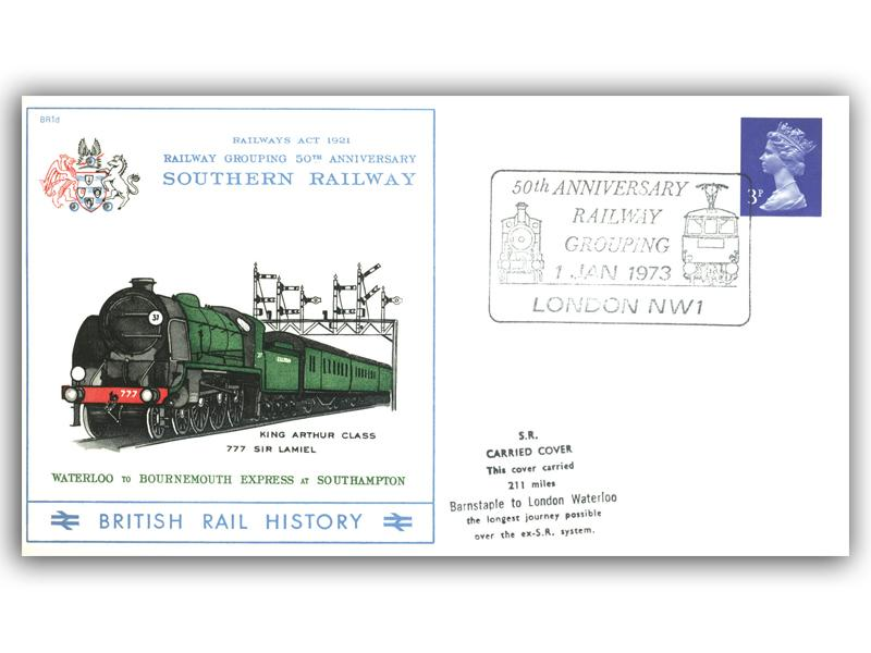 1973 50th Anniversary of the Railway Grouping - Southern Railway