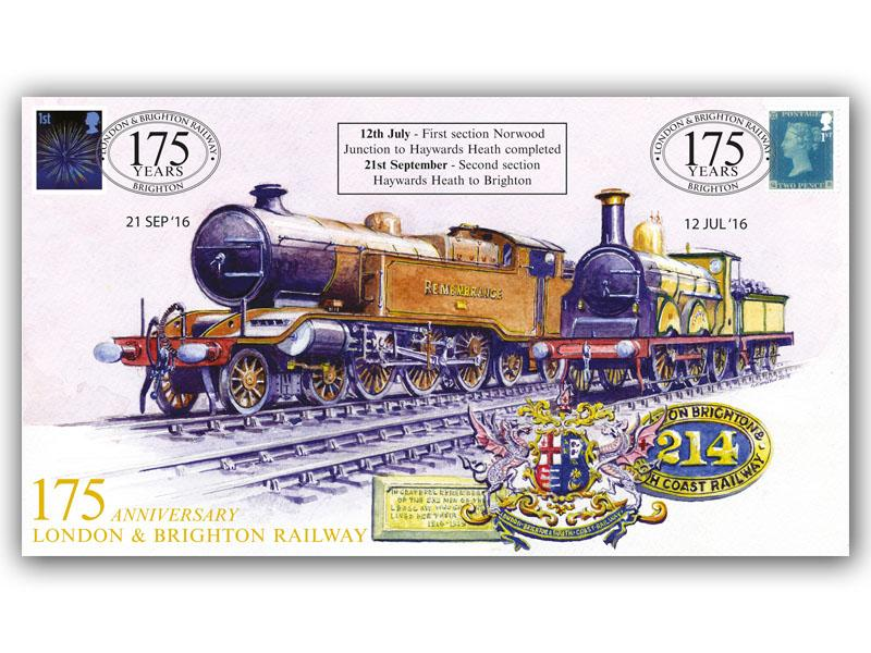 175th Anniversary of the London & Brighton Railway