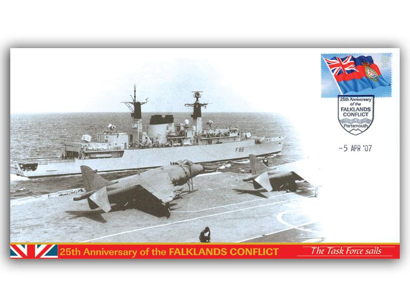 The Task Force Sails: Falklands Tribute