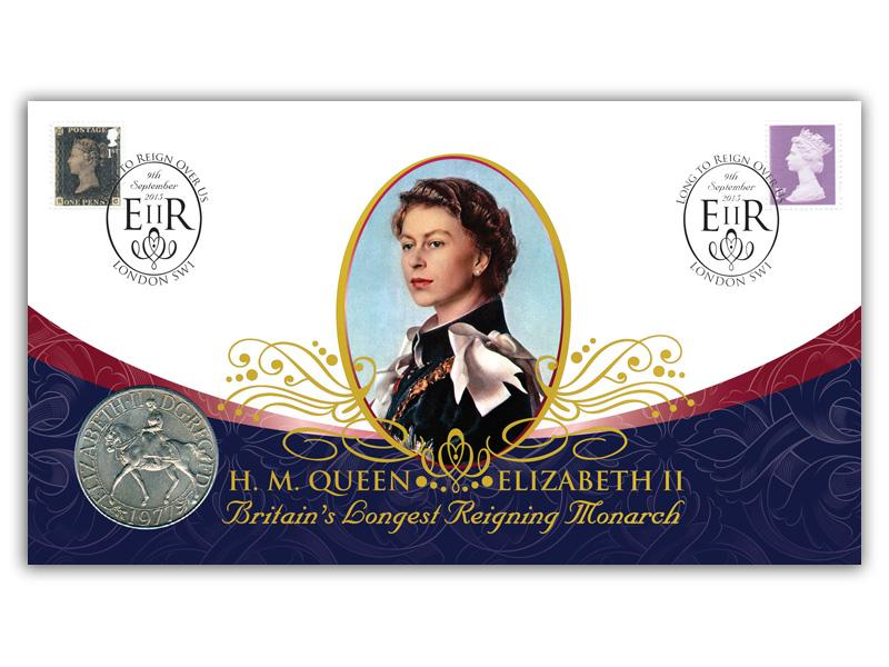 Long to Reign Over Us Coin Cover