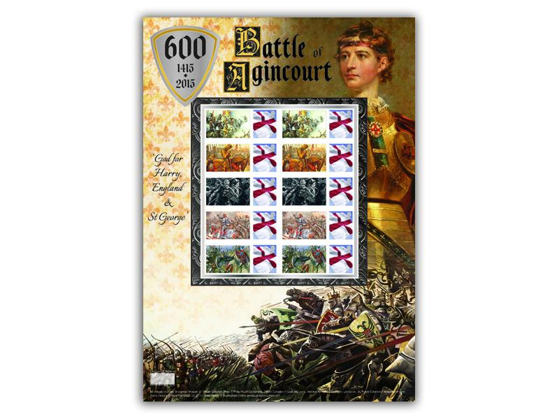 600th Anniversary of the Battle of Agincourt Stamp Sheet