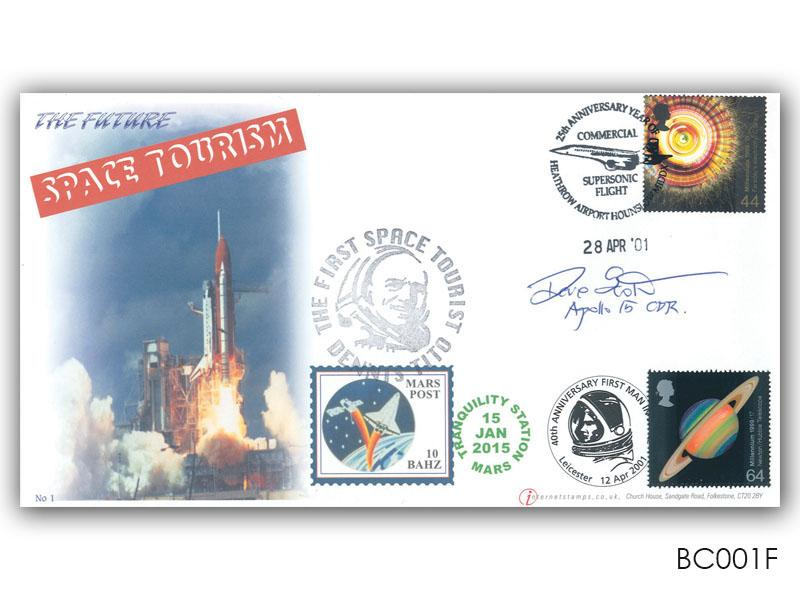 Space Tourism Signed Cover