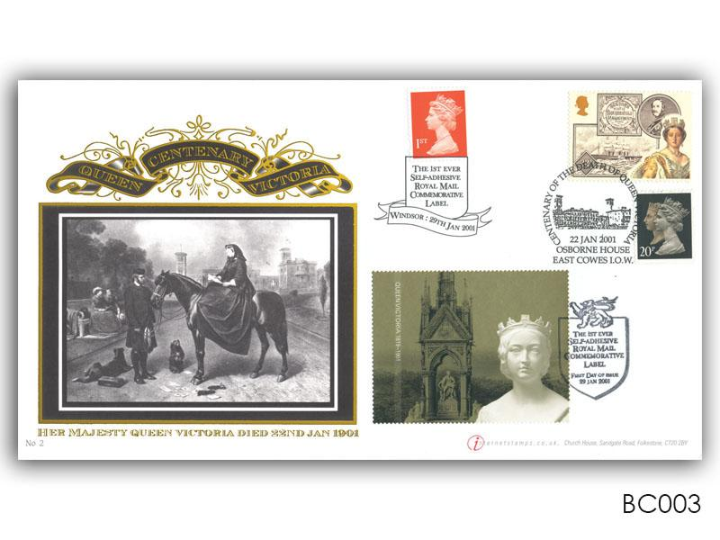 Queen Victoria: Commemorative Label Cover