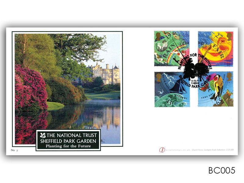 The Weather - Sheffield Park Garden Stamps Cover