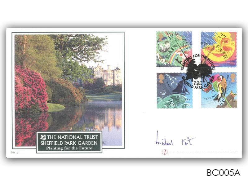 Sheffield Park stamps cover