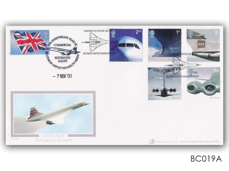 50th Anniversary of Passenger Jet Aviation - Concorde