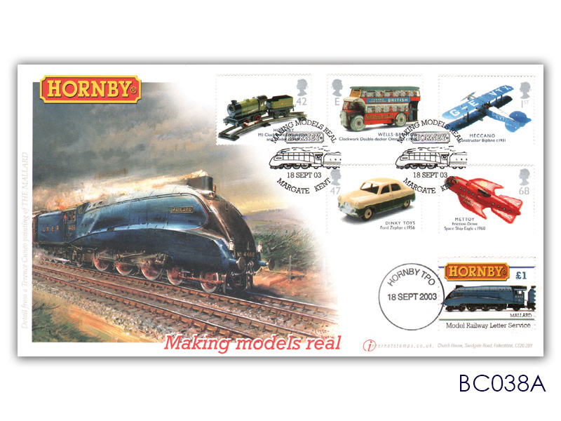 Classic Hornby with stamps
