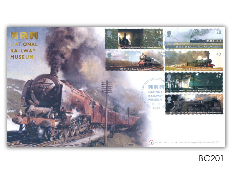Classic Locomotives - The National Railway Museum Stamps Cover