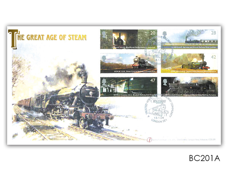 Classic Locomotives - Railway Magazine Stamps Cover