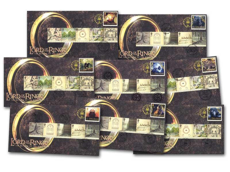 Lord of the Rings Set of 8 Covers