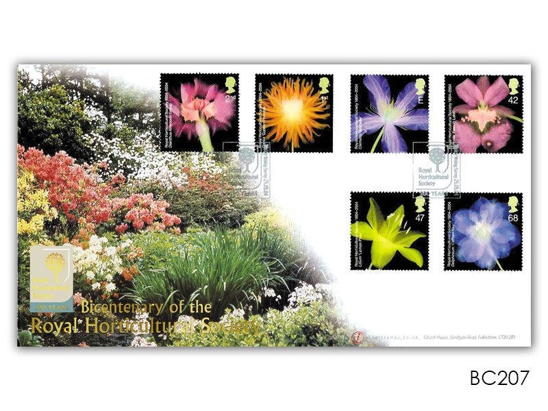 Bicentenary of the Royal Horticultural Society Stamps Cover