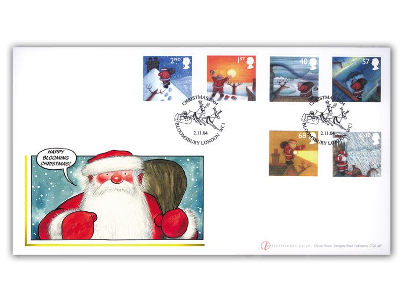 Christmas 2004 Stamps Cover