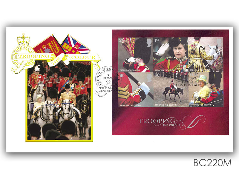 Trooping the Colour Miniature Sheet Cover