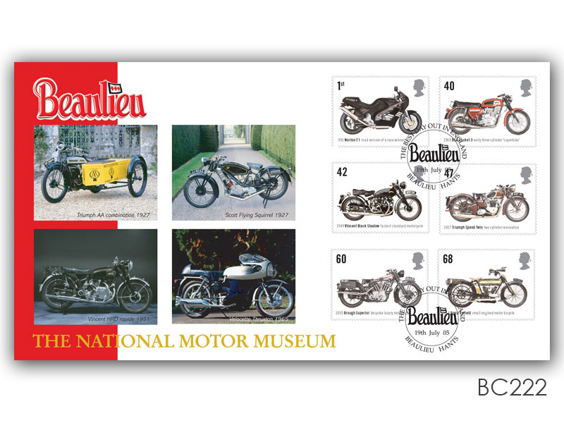 British Motorcycles - The National Motor Musum, Beaulieu
