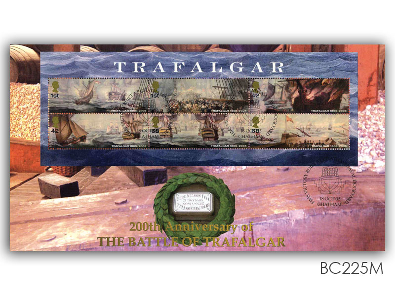 200th Anniversary of the Battle of Trafalgar - Miniature Sheet Cover
