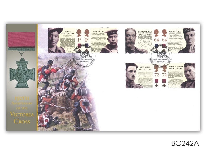 150th Anniversary of the Victoria Cross (Alternative Postmark)
