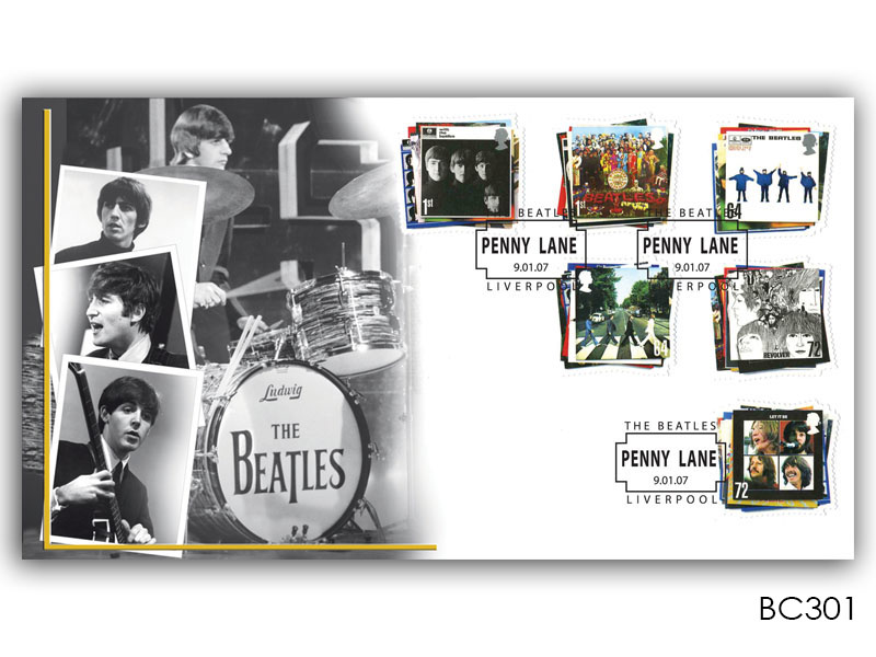 The Beatles Stamps Cover