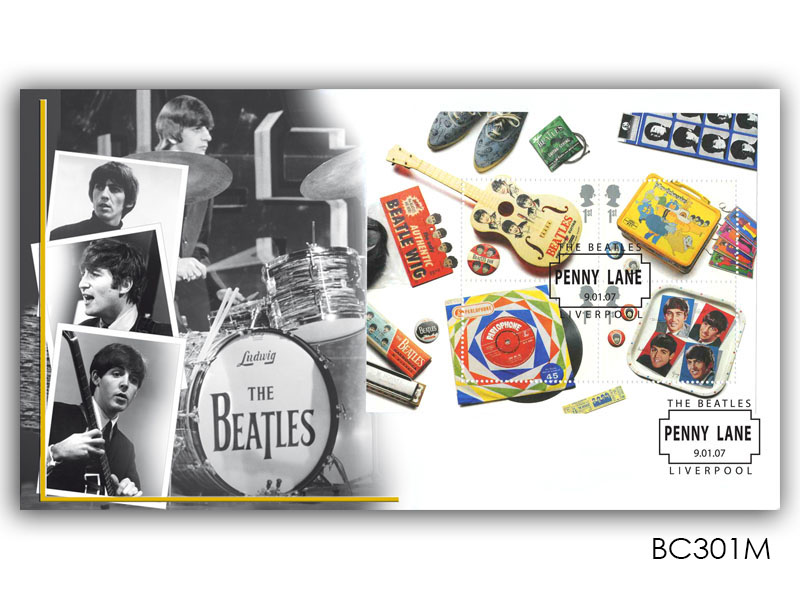 The Beatles Miniature Sheet Cover