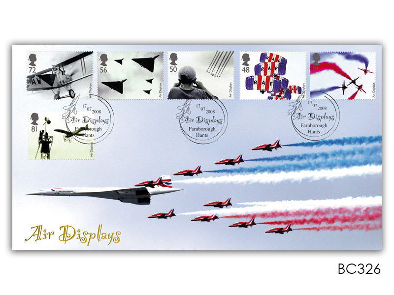Air Displays - Red Arrows and Concorde