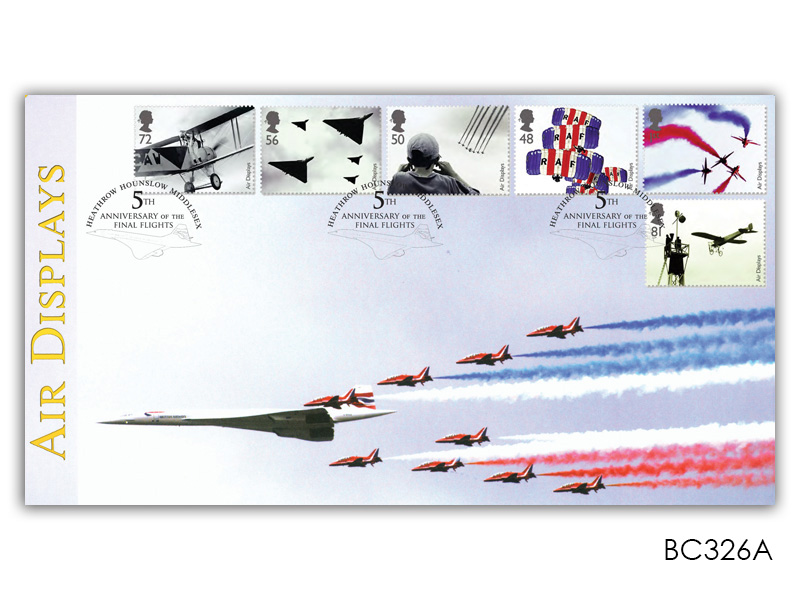 Air Displays - Red Arrows and Concorde Alternative Cover