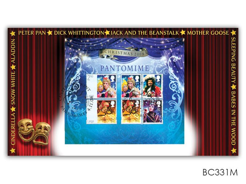 Christmas 2008 Pantomime Miniature Sheet Cover