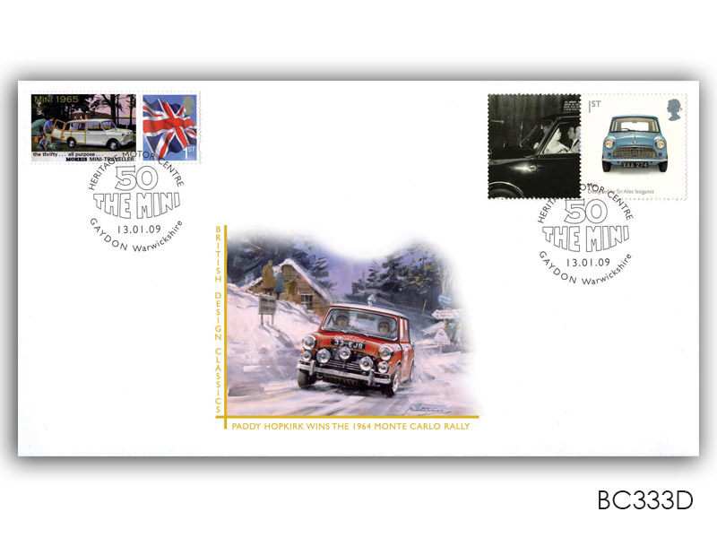 British Design Classics - Mini Single Stamp and Label Cover