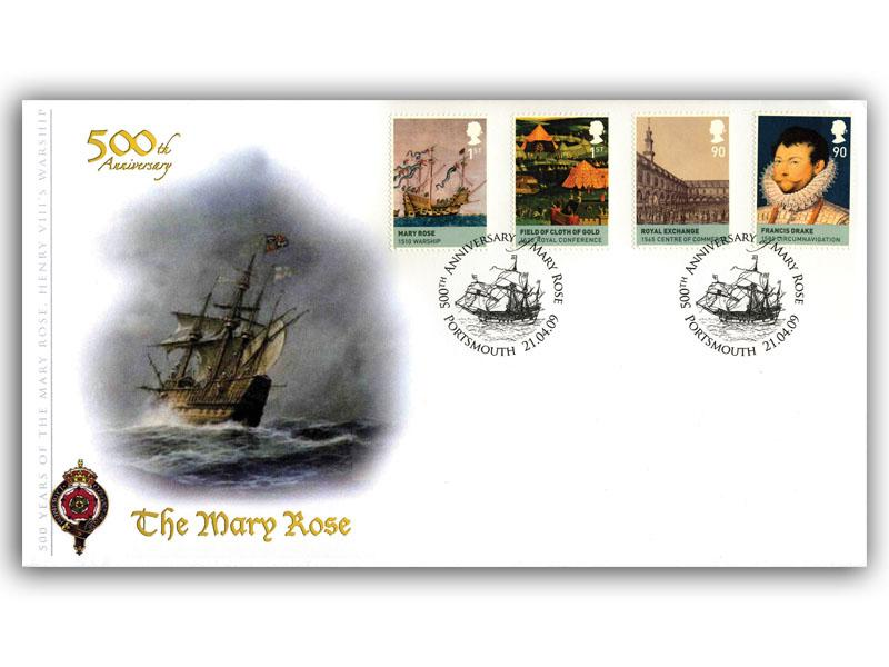 The Age of the Tudors - 500th Anniversary of The Mary Rose