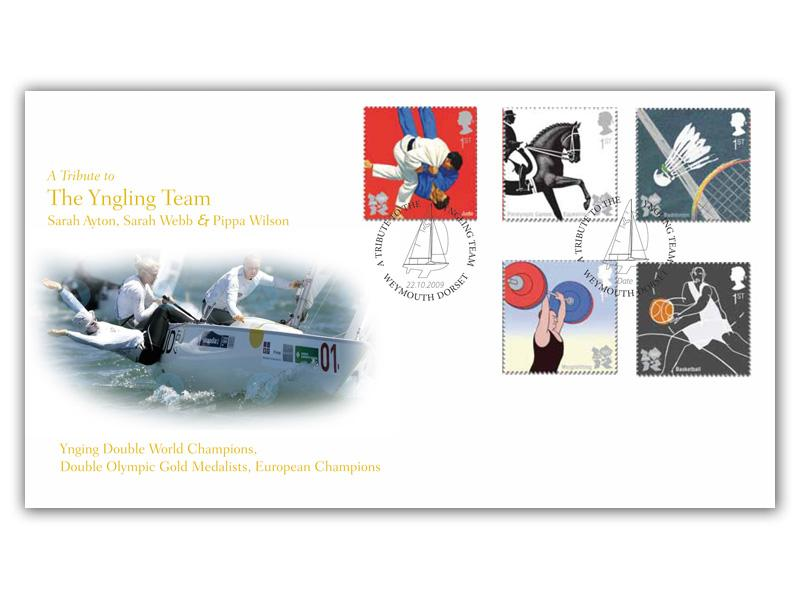 2009 Olympic and Paralympic Games - A Tribute to Yngling Team