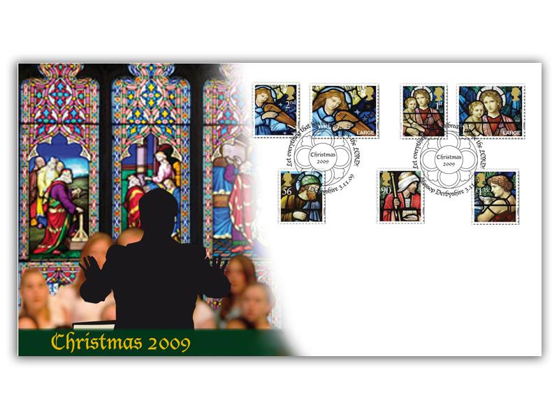 2009 Christmas Stamps Cover
