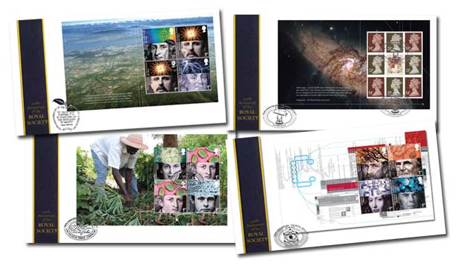350th Anniversary of the Royal Society Prestige Booklet Set