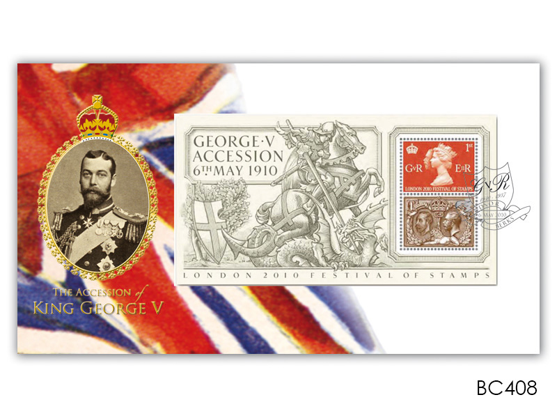 Centenary of King George V Accession Miniature Sheet