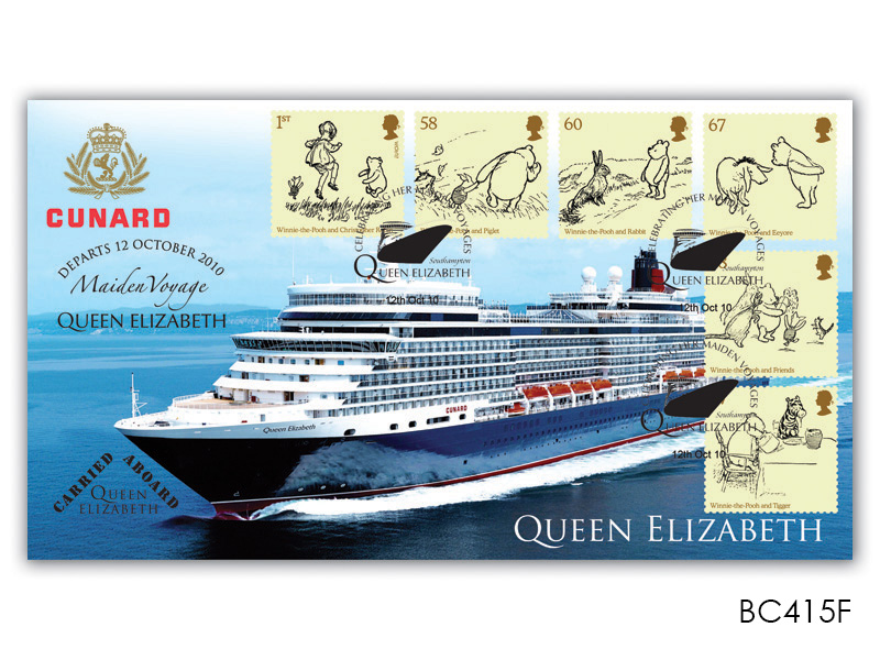 Childrens Books / Queen Elizabeth Maiden Voyage Cover