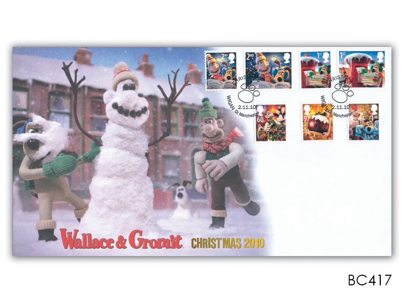 Christmas 2010 - Wallace & Gromit