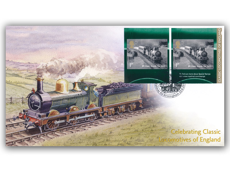 Classic Locomotives of England Retail Booklet Cover