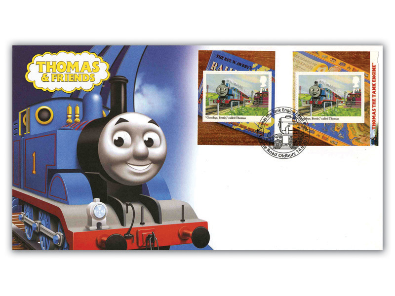 Thomas the Tank Engine Retail Booklet Cover