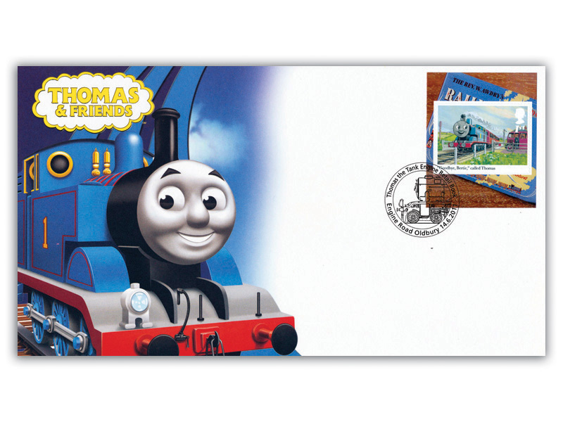 Thomas the Tank Engine Single Stamp Retail Booklet Cover