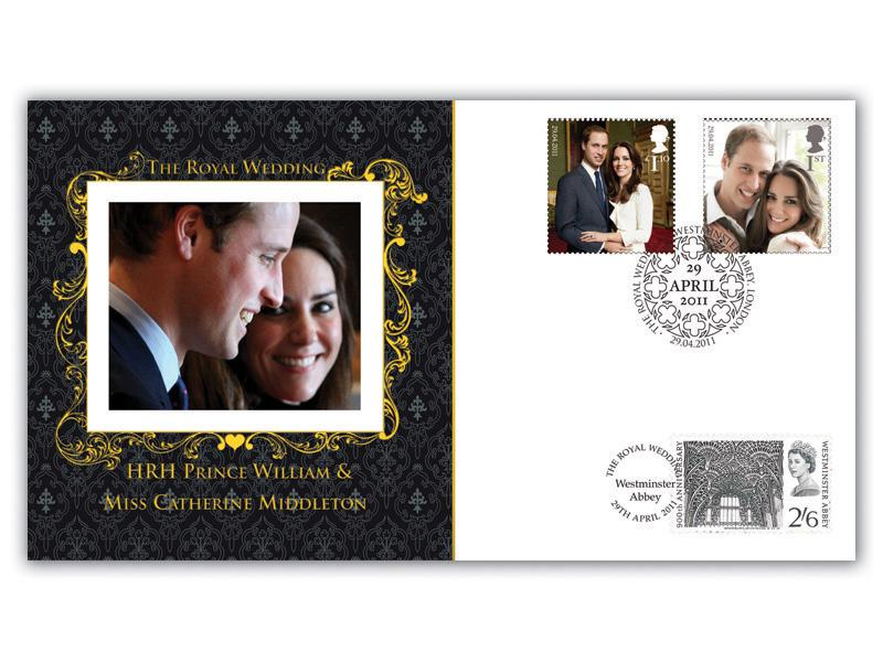 Royal Wedding FDC Cover