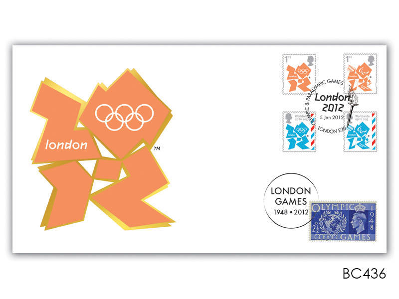 London 2012 First Olympics & Paralympic Games Stamps