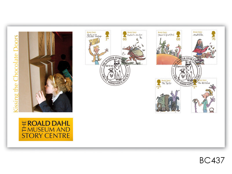 Roald Dahl Museum Stamps First Day Cover
