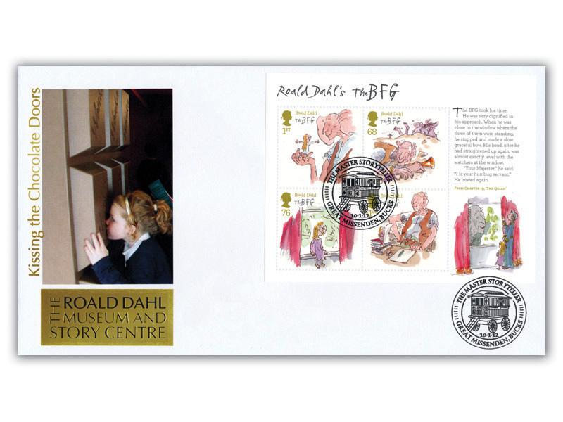 Roald Dahl Museum Minature Sheet Alternative Cover